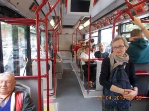 In autobuz